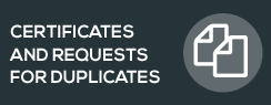 Certificates and requests for duplicates