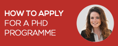 How to apply for a PhD programme