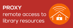 Proxy remote access to library resources