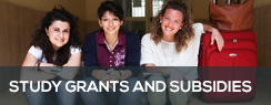 Study grants and subsidies
