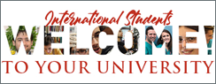 Welcome Day international students