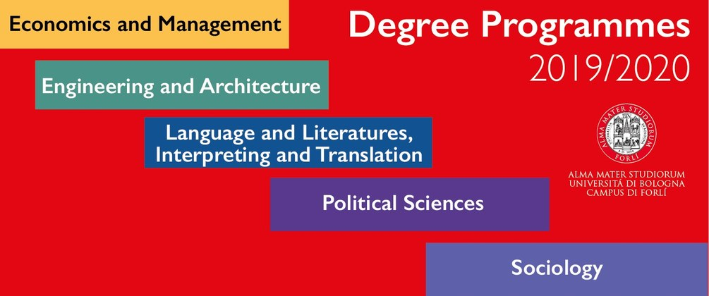 Degree programmes 2019/20