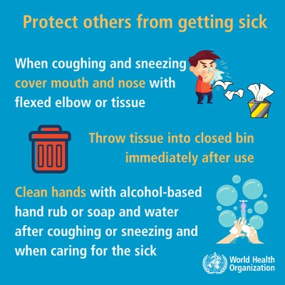 Protecting other from getting sick