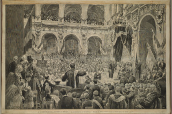 Speech by Carducci Engraving