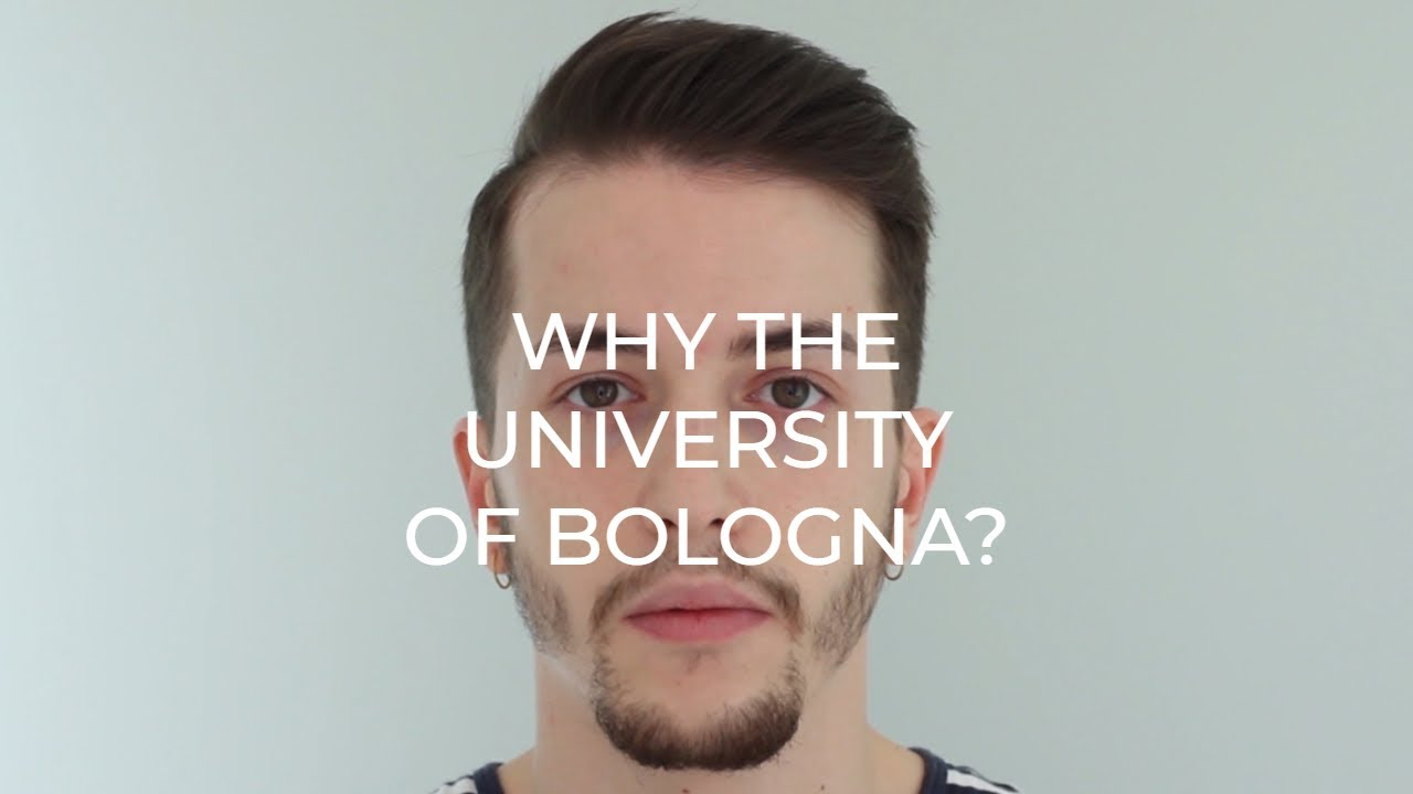 Why the University of Bologna?