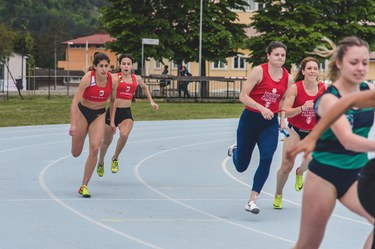 4x100 relay