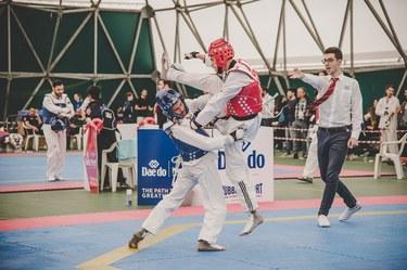 Taekwondo cat. 58 kg