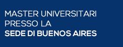 Master Universitari presso la Sede di Buenos Aires