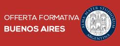 Offerta formativa della sede di Buenos Aires