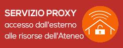 Servizio Proxy accesso dall'esterno alle risorse di Ateneo