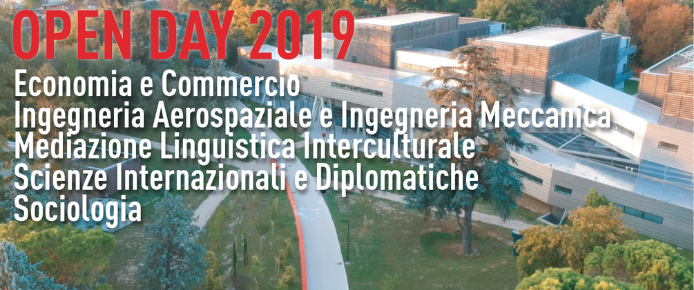 open day Forlì 2019 Banner