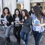 Studenti del campus di Forlì
