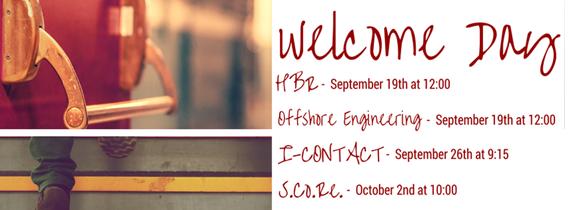 welcome week di corso di studi