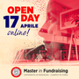 Master Founraising open day