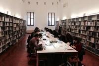 Sala di lettura Biblioteca di Palazzo Corradini
