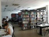 Sala lettura di Scienze ambientali