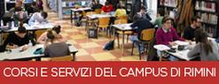 Corsi e servizi del Campus di Rimini