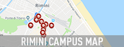 Rimini Campus Map