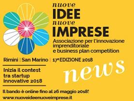 Nuove idee Nuove imprese 2018
