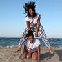 Spiaggia di Rimini - Barca a Vela