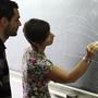Studente con Prof. Unibo