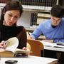 studenti che studiano
