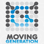 Logo moving generation