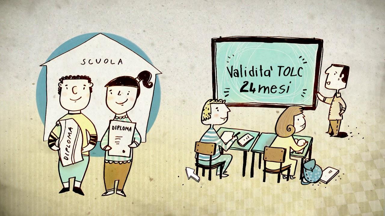 TOLC - Test Online Cisia per accedere ai corsi a numero programmato dell'Università di Bologna